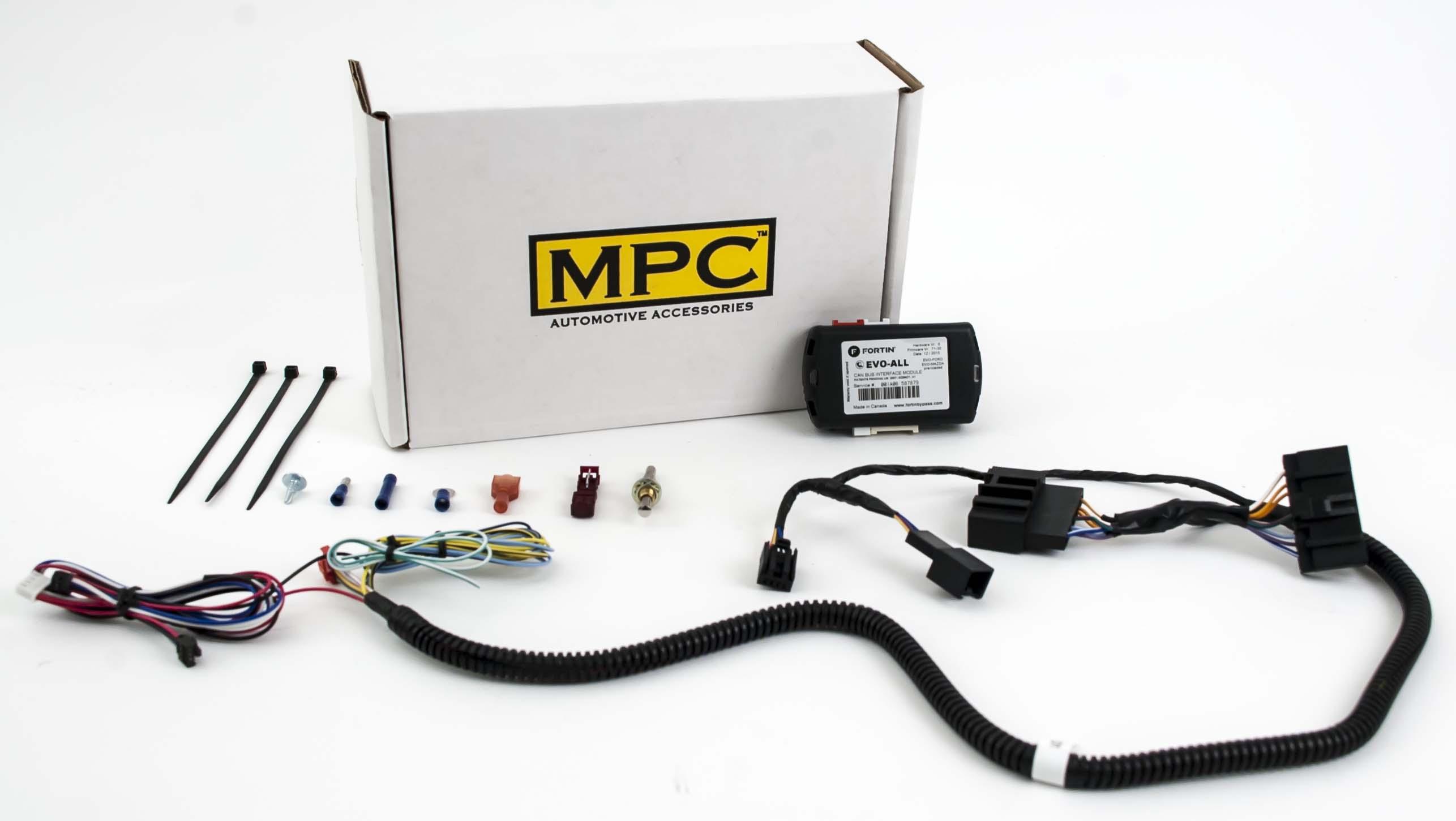 complete remote starter fits select ford & mazda 2007 ... astroflex remote starter wiring diagram