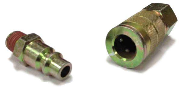 Quot industrial interchange quick connect air hose