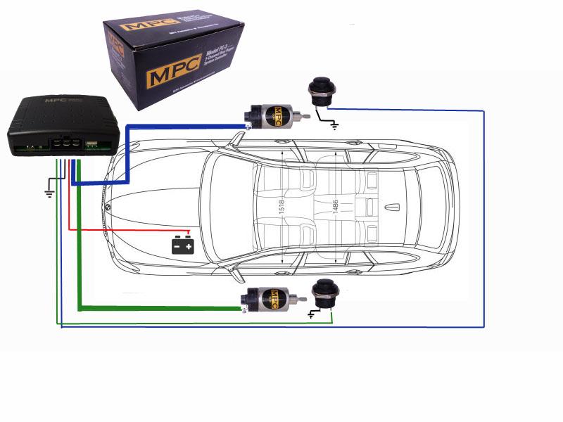 2 door 45lb shaved handle popper kit with emergency release easy rh ebay com door popper relay wiring diagram autoloc door popper wiring diagram