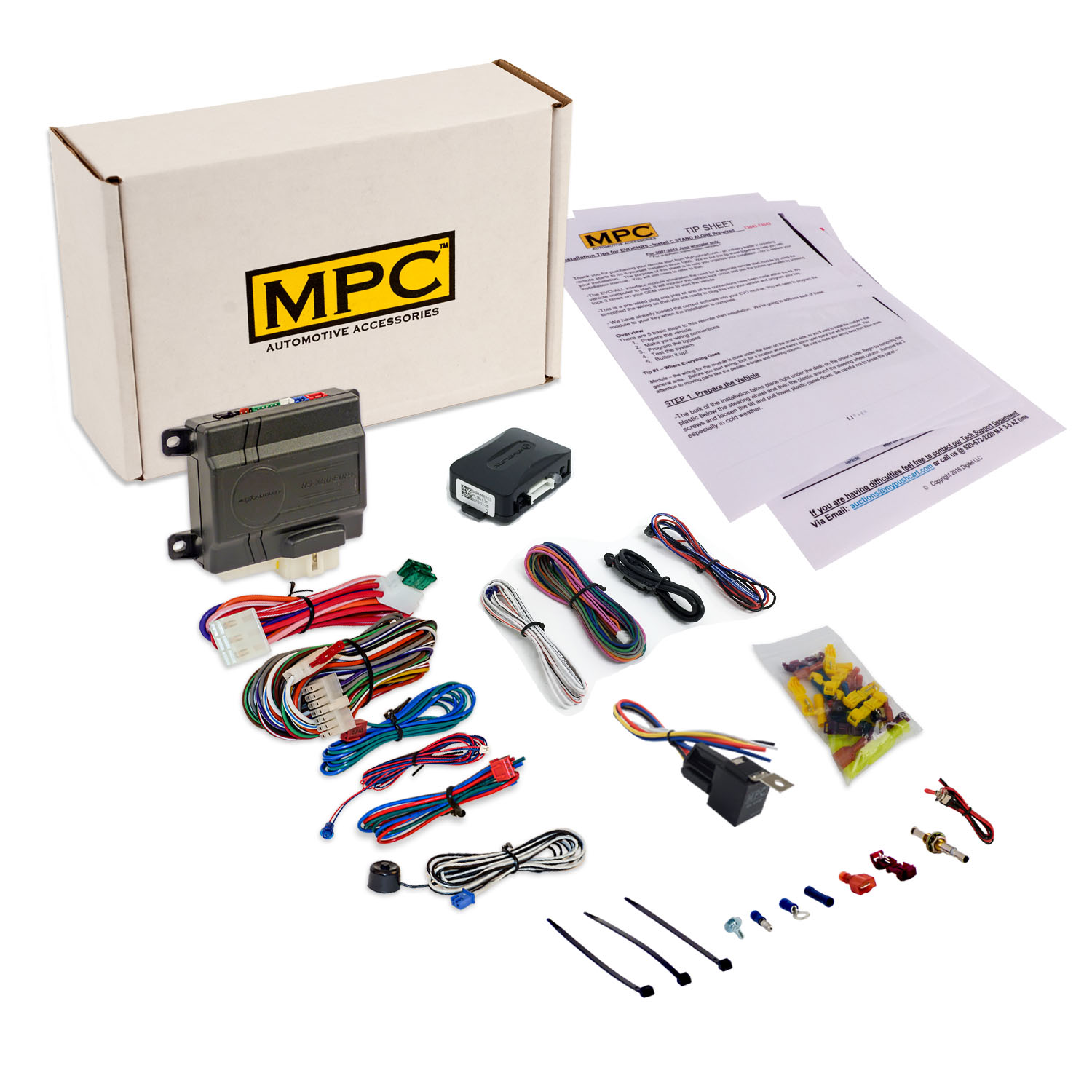 Add On Remote Start Kit For GM Vehicles W/ Keyless Bypass