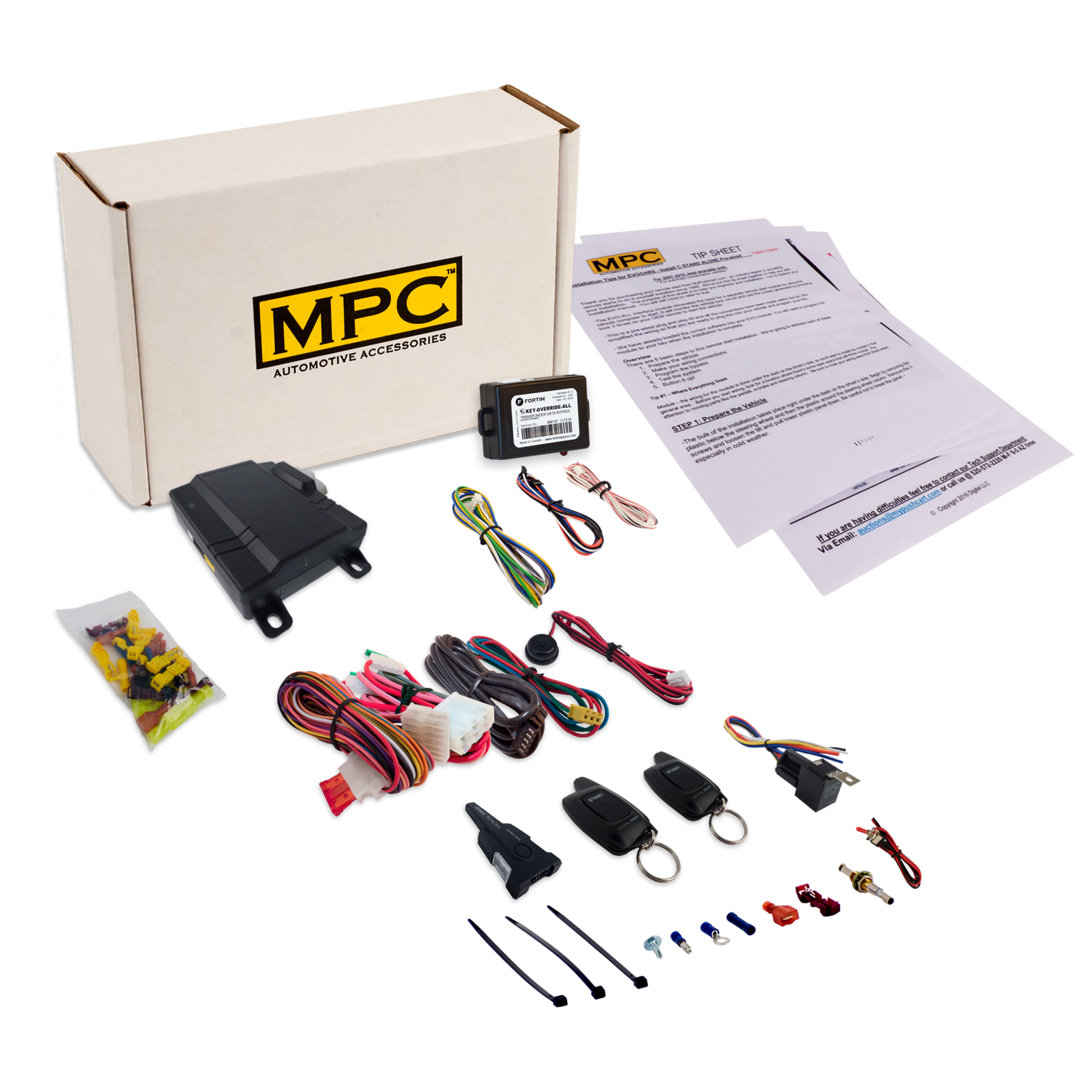 2012 Toyota Venza Transmission: 1-Button 2-Way Remote Start Kit For Select 2003-2010