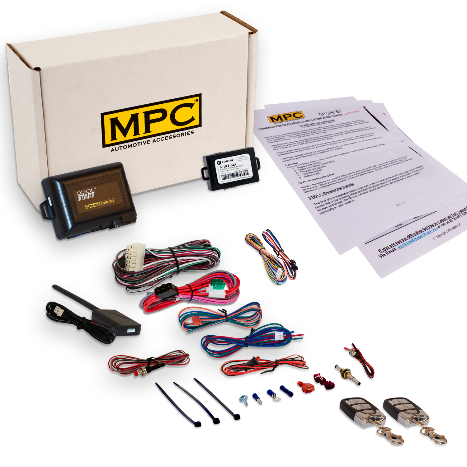 Remote Start Kit W Keyless Entry For 1999 2004 Jeep Grand Cherokee Yj Wiring Harness Ebay Click Thumbnails To Enlarge