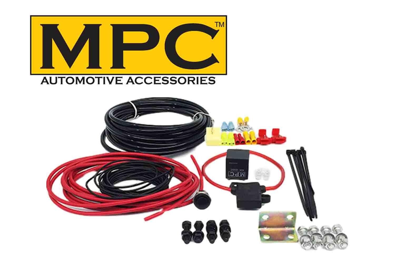 Air Compressor & Train Air Horn Wiring Install Kit